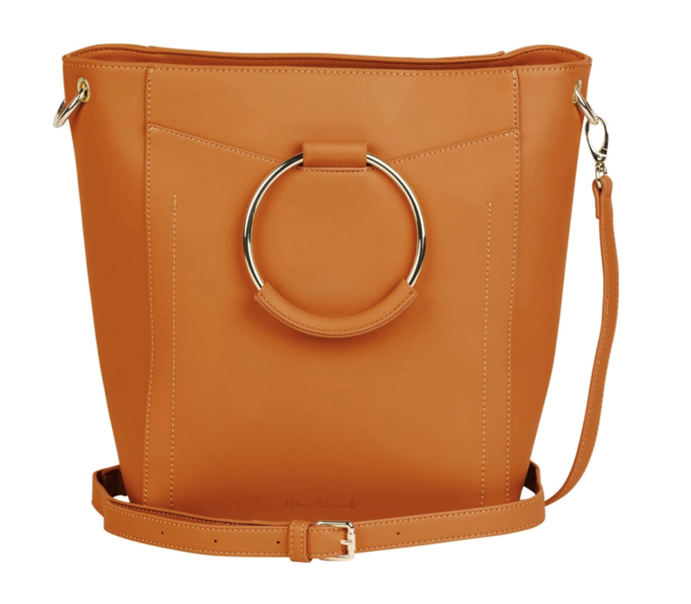 Crossbody Bag - I've been looking for a new bag since May and it has been so annoying carrying around bags I don't like that much, but I really need something to hold my stuff. I'm super picky about my bags (shape, size, color, shape, texture, you name it I probably have an issue with it) but I love everything about this one!  Especially that beautiful creamy, caramel color.
