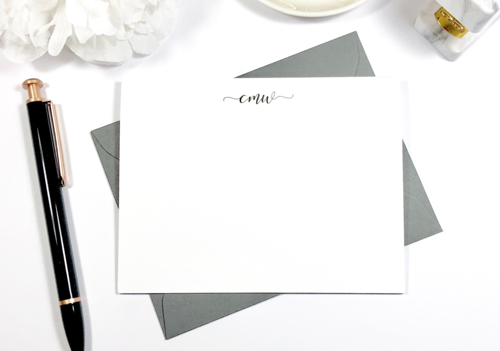 "Personalized Stationary - I received a graduation card that was on personalized stationary and I immediately thought ""Well I need some of those"". It was really beautiful and it's not something you'll use everyday, but it will be very nice to have when you do need it."