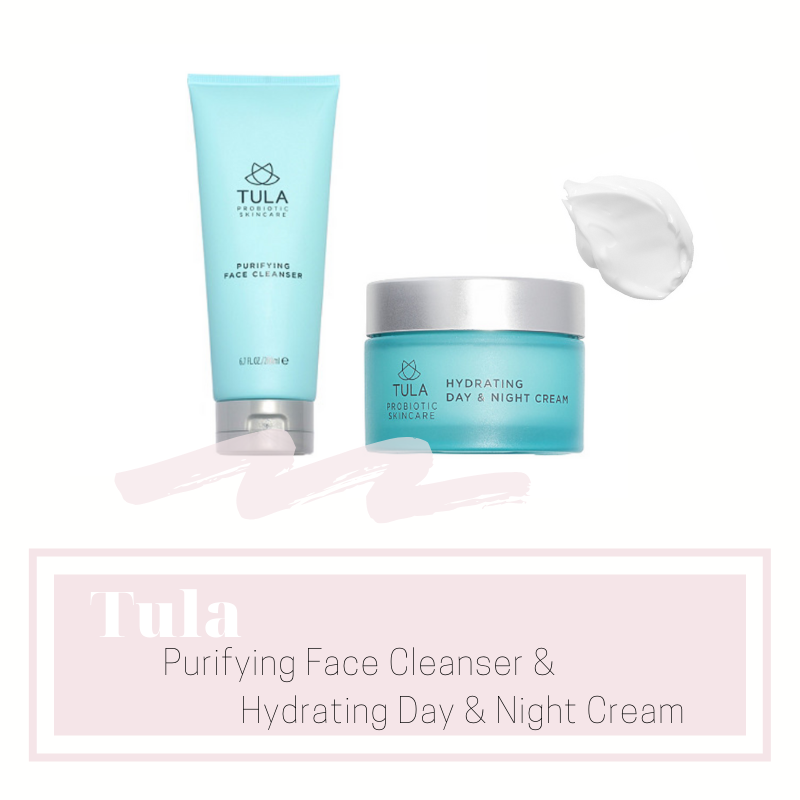 tula - I've been trying out different face washes for the last couple of months and I haven't found any I wanted to add to my skincare routine until I tried the Tula Purifying Face Cleanser. I love that their products contain probiotics and antioxidants, all the good stuff your skin and your body in general needs to maintain its health. This is the first face wash I have ever used that makes my skin feel velvety soft after rinsing it off and I'm now addicted. Continuing my obsession I tried Tula's moisturizer too and it feels so creamy and delicious. Welcome to my ride or die club Tula!!! ♡