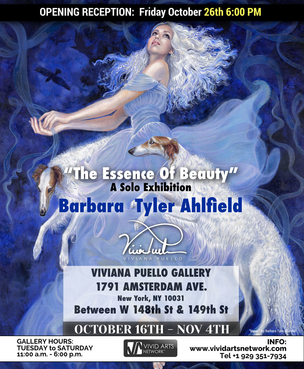 """The essence of beauty"" - A solo Exhibition by Master Artist Barbara Tyler Ahlfield"