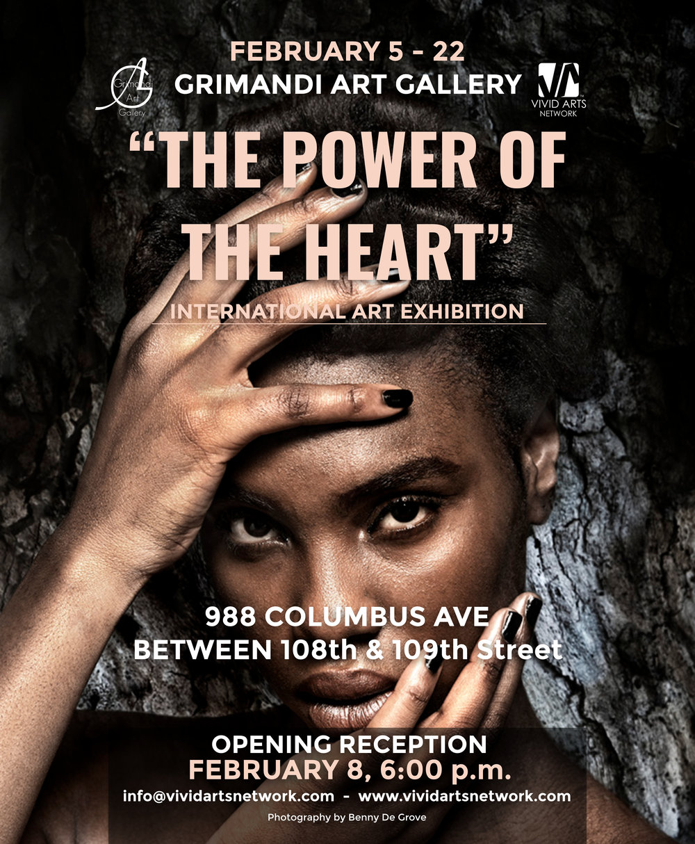 """""""The power of the heart"""" - INTERNATIONAL ART EXHIBITION"""