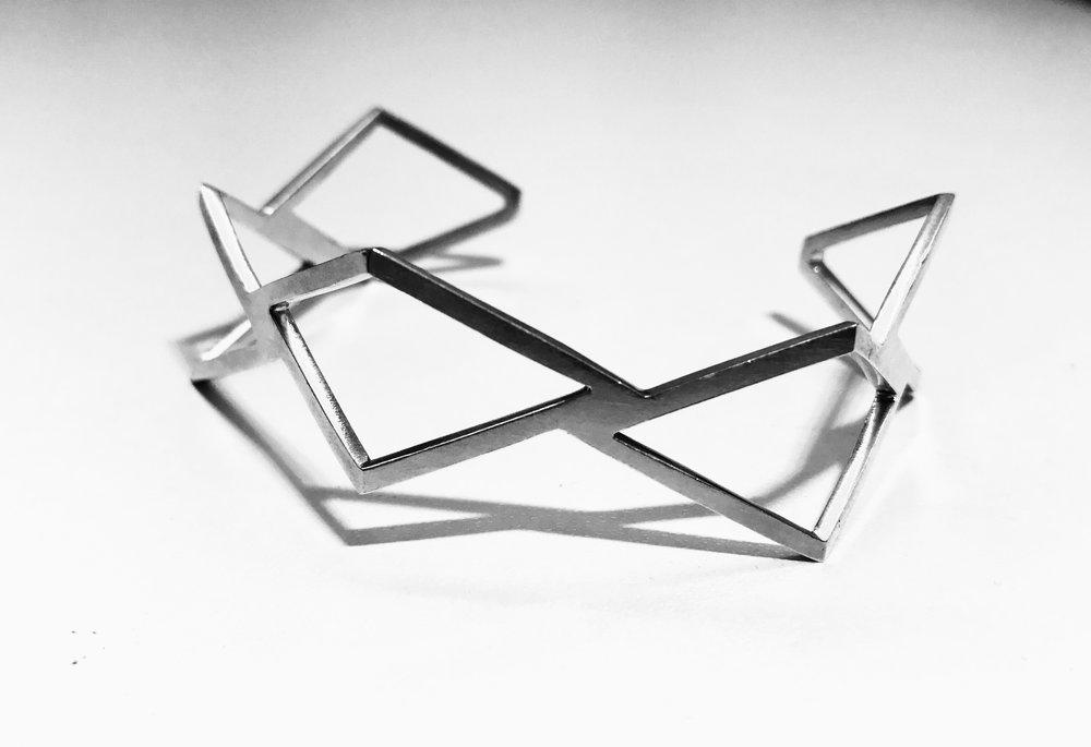Bent Diamond cuff.JPG