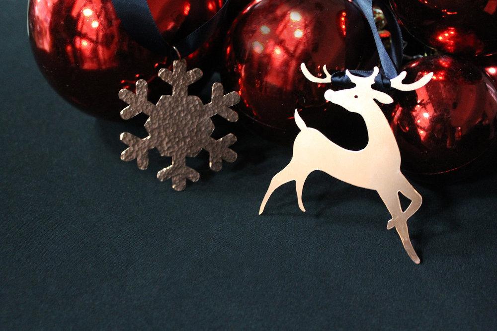 Christmas Candle Holder & Ornament Workshop