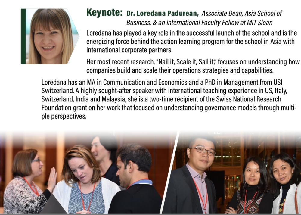 At the  MBACSEA  conference Hong Kong