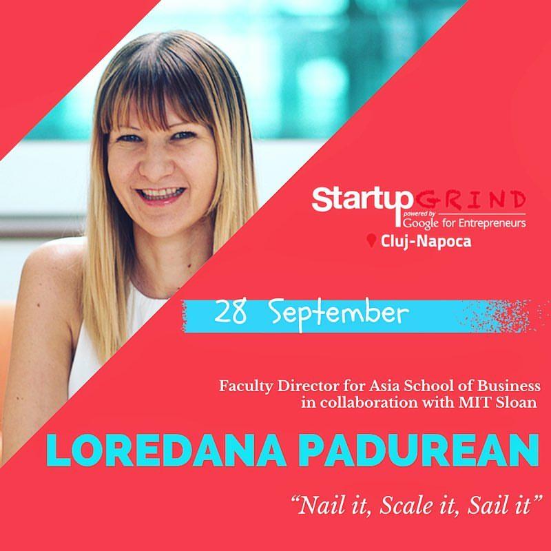 Start-up Grind  interview, Romania
