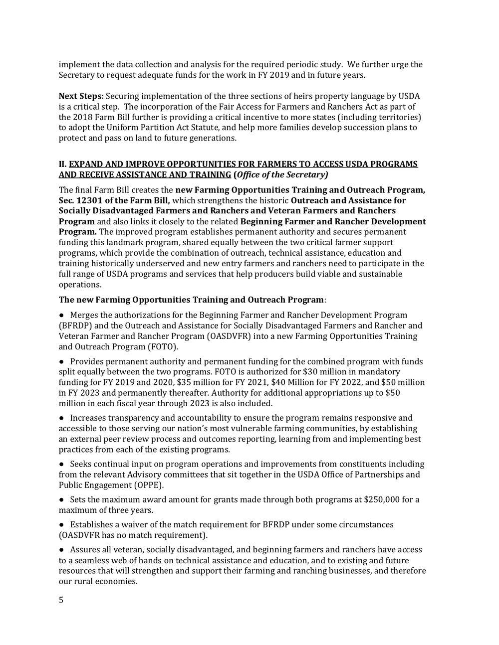 2018 Farm Bill Implementation Recommendations - Rural Co etal final March 1 page 6.jpg