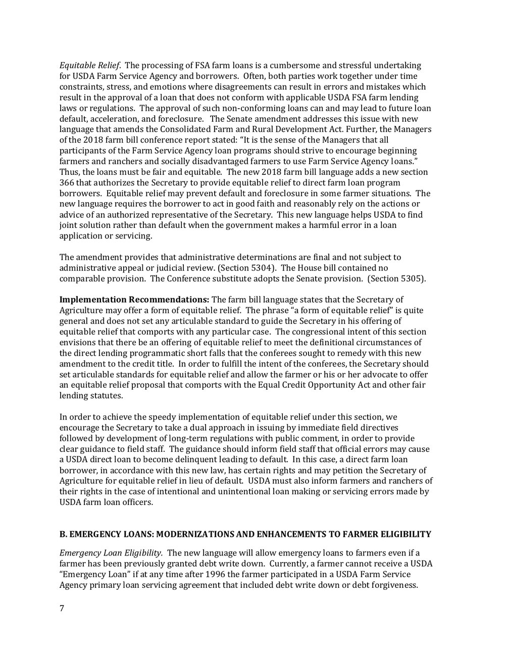 2018 Farm Bill Implementation Recommendations - Rural Co etal final March 1 page 8.jpg