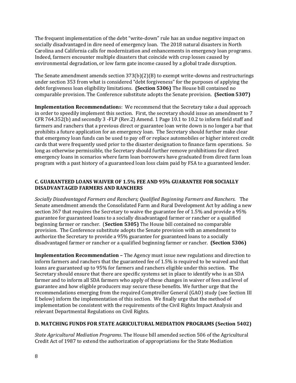 2018 Farm Bill Implementation Recommendations - Rural Co etal final March 1 page 9.jpg