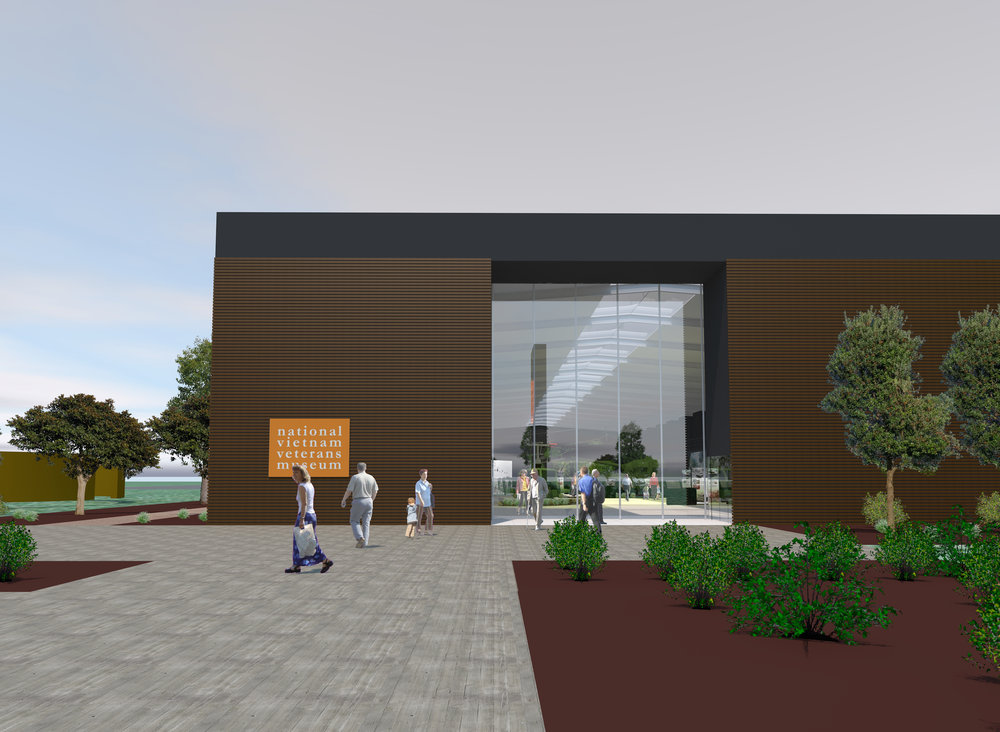 National Vietnam Veterans Museum, Concept Visual