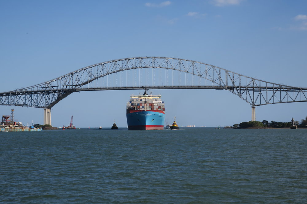Panama Canal Bridge Of The Americas.JPG