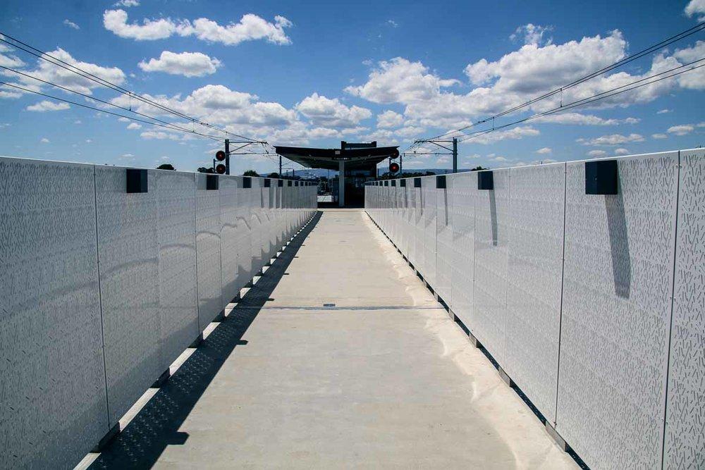 Pedestrian Bridge Ballustrading