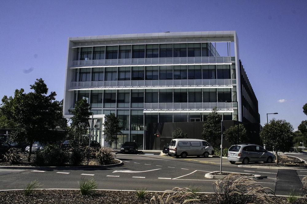 Botanicca Facade Steelwork
