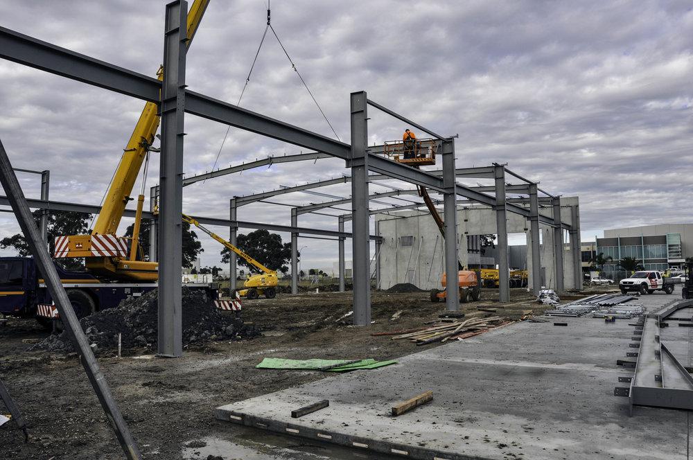 Factory/Warehouse Steelwork