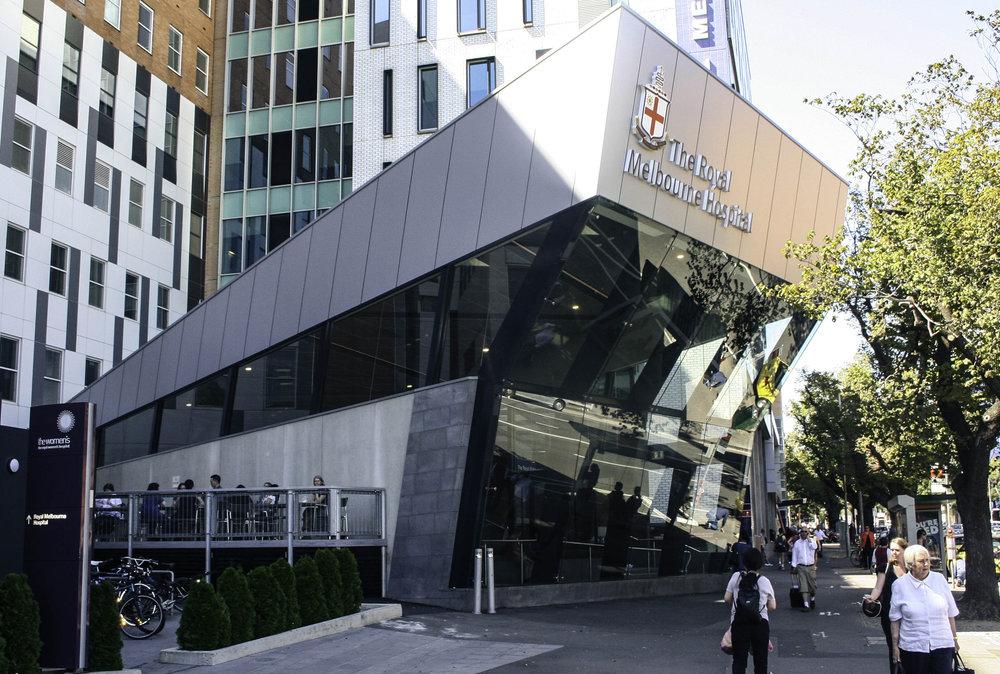 Royal Melbourne Hospital - Main Entrance