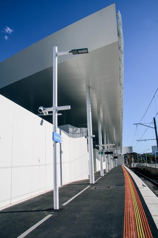 Station Light Poles