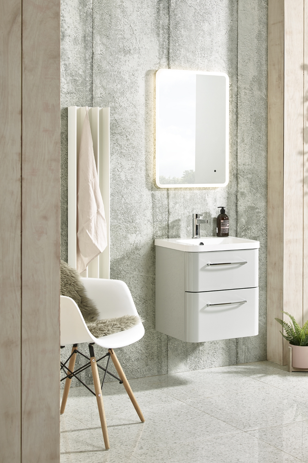 Perfectly Formed - Few of us have the luxury of a large home, never mind a palatial bathroom. Fortunately, there are simple steps and clever styling tricks you can employ to create a soothing, tranquil bathroom that at least feels more spacious than it is!