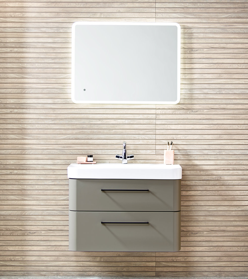 Float on... - Wall hung vanity units give a feeling of lightness and space to a room, as well as a clean, contemporary look.