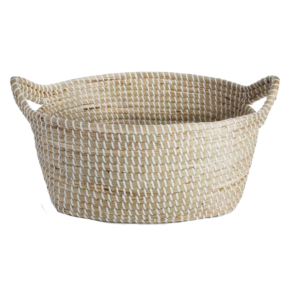 Seagrass Trough Basket, Hudson Home
