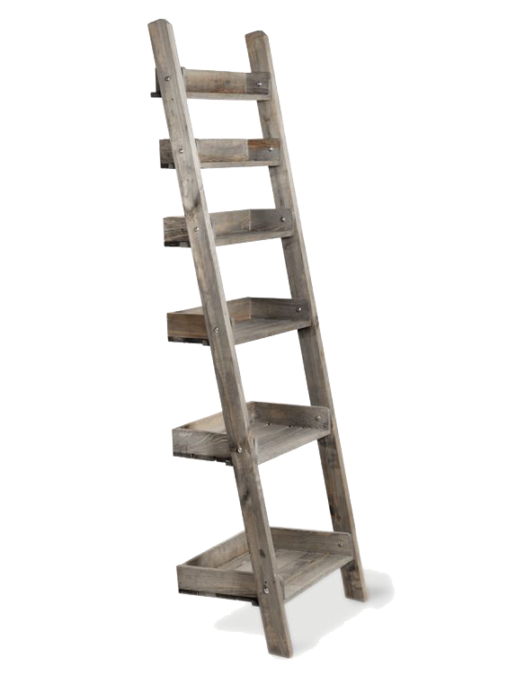 Ladder Shelving, Cox & Cox