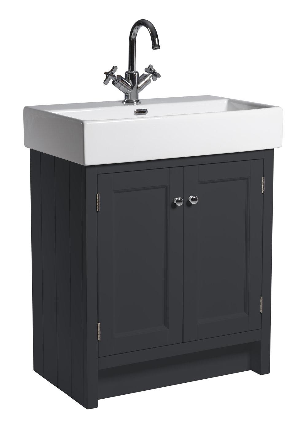 Hampton 700mm Counter-top Vanity Unit