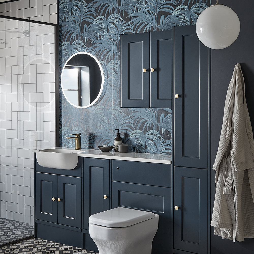 the perfect fit - Whatever your bathroom size, our fitted furniture offers the flexibility and versatility you need to create your dream bathroom space.