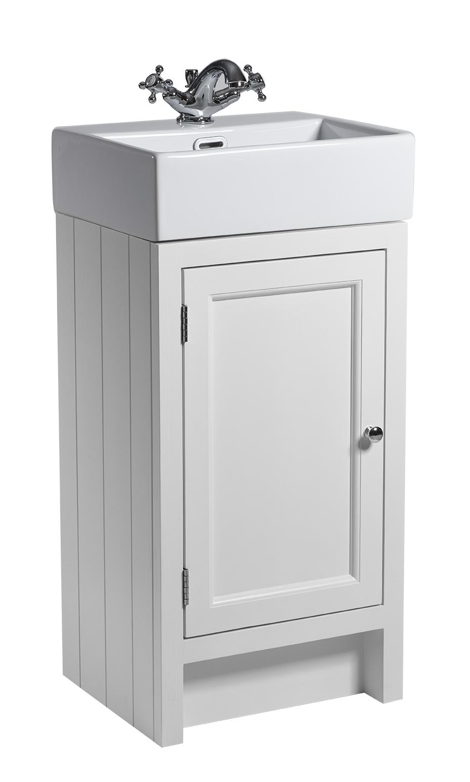 Hampton Cloakroom Vanity, Chalk White