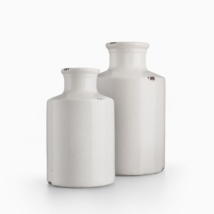 Ceramic Vase, Hampton Home