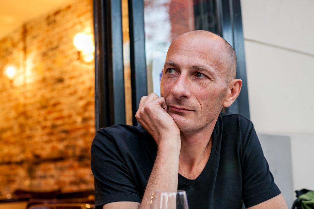 Romuald Cardon, co-fondateur de l'association avec Julien Fouin