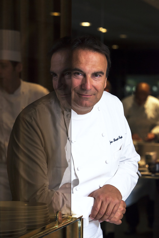 Chef Jean-François Rouquette - Restaurant étoilé Paris 2e