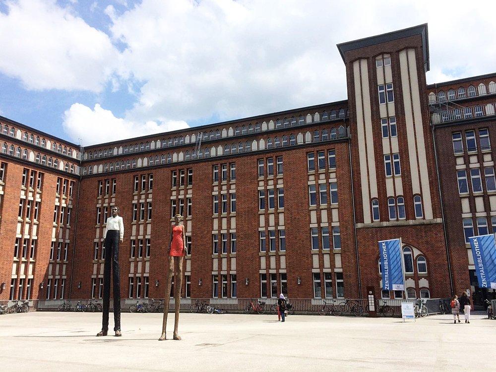 Bibliothek-Hamburg