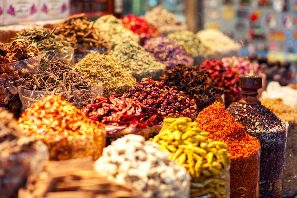 Besøk på kryddermarkedet