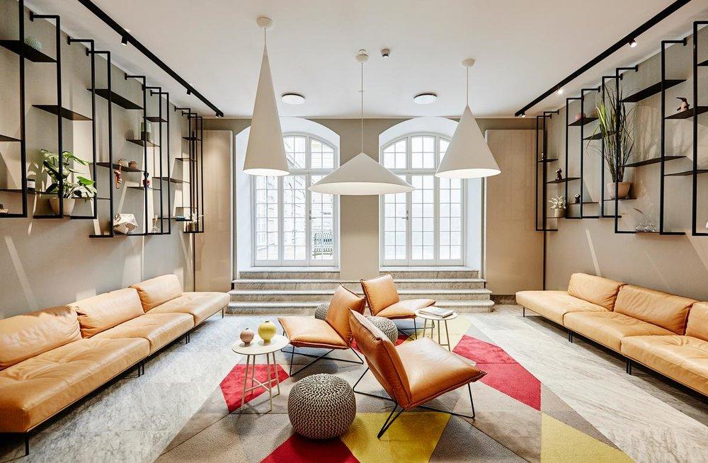 Vakre og trendy Nobis er et herlig hotell om du besøker København.  Photo:SOLK Photography/Copenhagen Media Center