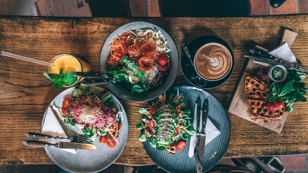 På Café Social får man servert de deiligste luncher og nydelig kaffe.  Photo:Martin Heiberg/Copenhagen Media Center