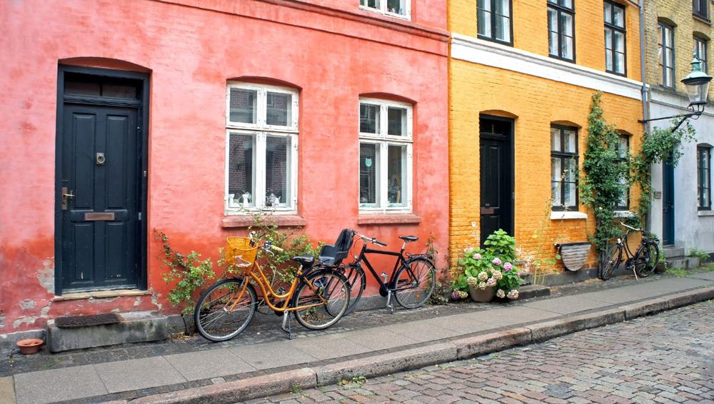Sjarmerende og fargerike gater
