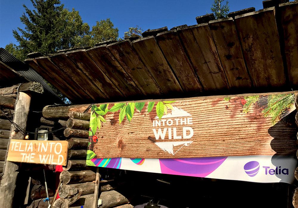 Vi tok med Telia og deres kunder Into The wild