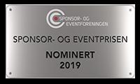 Stor stas å bli nominert til Årets Eventbyrå!