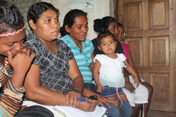 Community discussions in Nicaragua