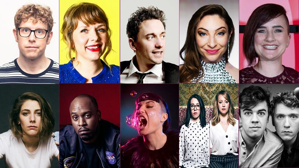 Featuring on the night will be comedians including Josh Widdicombe, Kerry Godliman, John Robins, Jess Robinson, Laura Lexx, Sarah Keyworth, Dane Baptiste, Bec Hill, Flo & Joan and Giants.