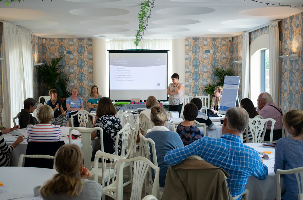 Community Churches workshop at Civic Fabric 2018