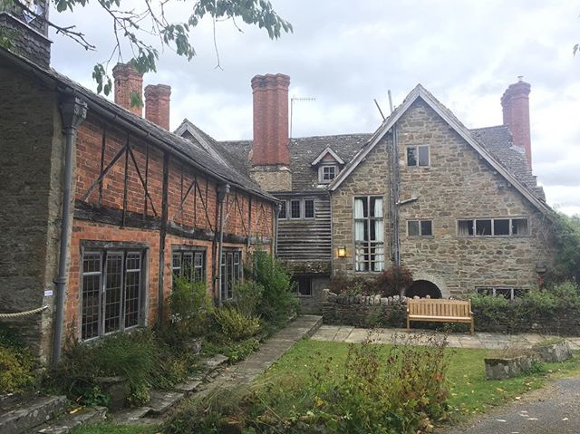 Rodd Court in Presteigne. Great to be at launch of next chapter for this heritage arts gem on the Herefordshire border. Home of international artist Sidney Nolan, the keys have now been handed over to the @sidneynolantrust. Excited to support the site which will soon be open to everyone. #hfdsculture