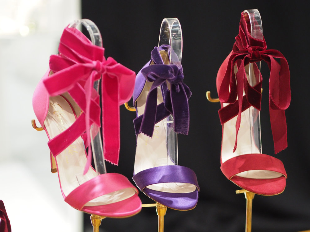 What's on your lust list right now? - Shoes, shoes and more shoes. Can you have enough pairs?