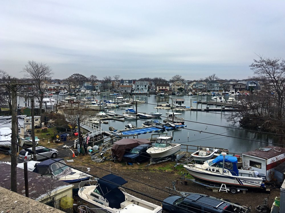 Sheepshead Bay's waterfront used to host a lively fishing industry.  Photo Credit: Armyda Escobar