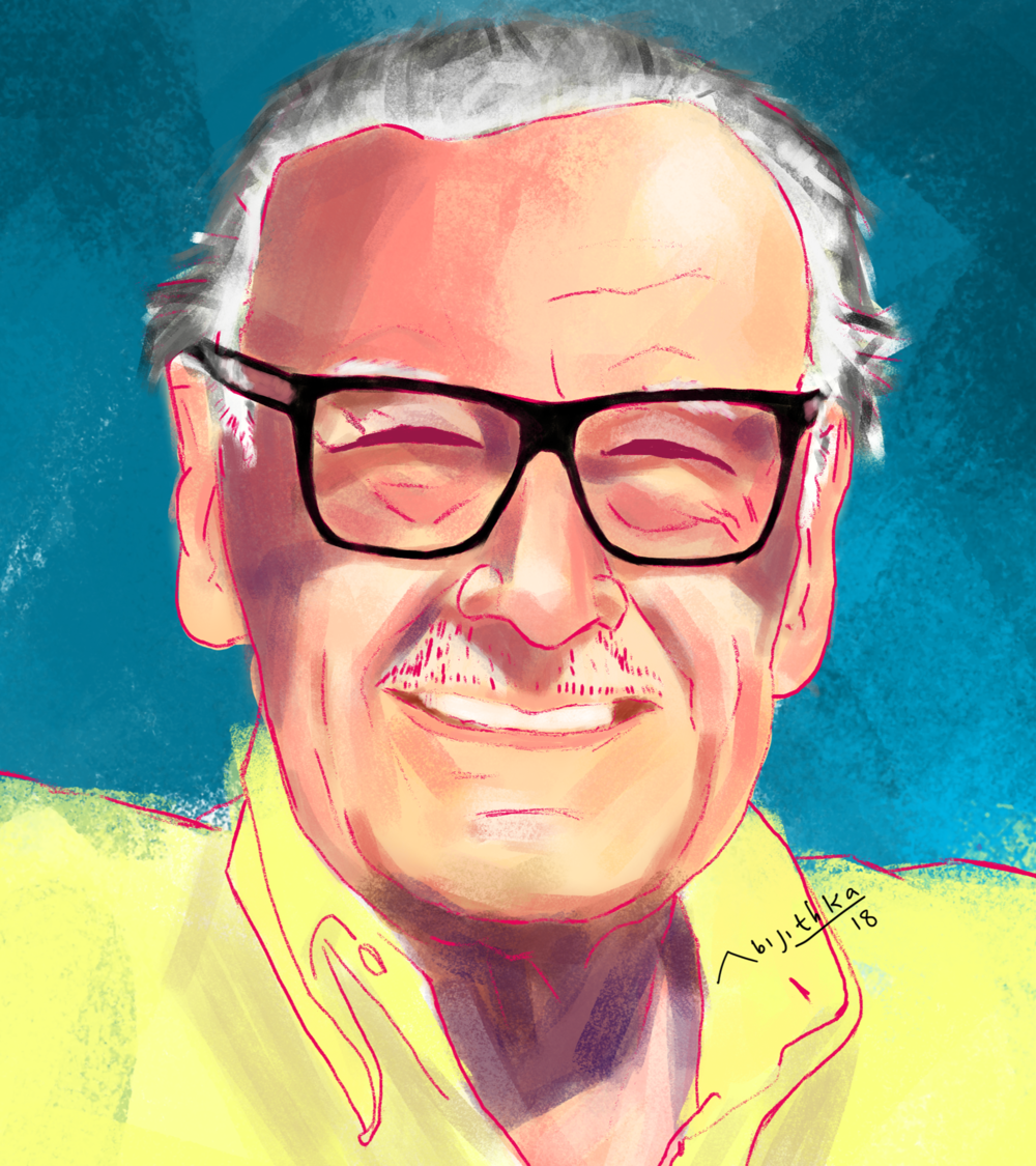 Stan Lee was the soul of Marvel Comics.  Photo Credit: Abijith Ka from Wikimedia Commons