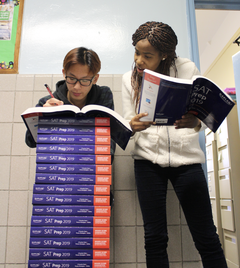 Start prepping now, Hornets! A free SAT is coming March 27.   Photo Credit: Sherry Chen