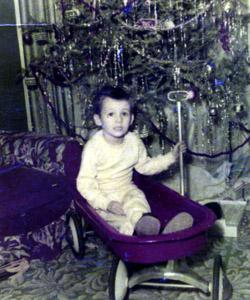 Gene celebrating Christmas (1951)