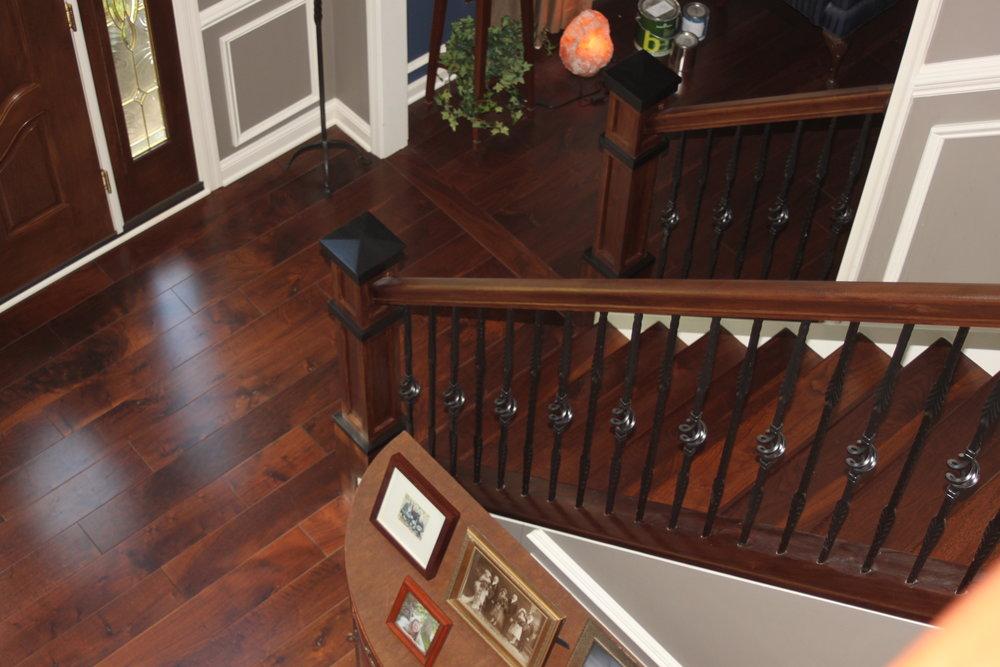 Walnut Staircase