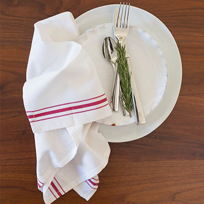 Cotton Bistro Crash Towel - 28 X 26 CS, 32 OZ.