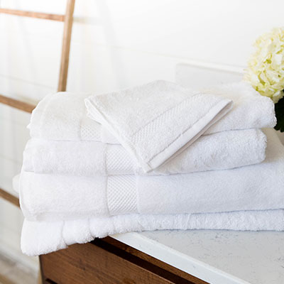 Dynasty - BATH SHEET: 35 X 70, 24 LB./DZ.BATH TOWEL: 27 X 54, 17 LB./DZ. HAND TOWEL: 16 X 30, 5.5 LB./DZ.WASH CLOTH: 13 X 13, 1.5 LB./DZ.BATH MAT: 22 X 36, 10 LB./DZ.