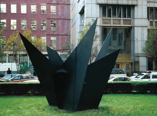Caulder steel sculpture, United Nations