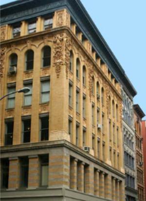 Terracotta restoration, Spring Street, SOHO